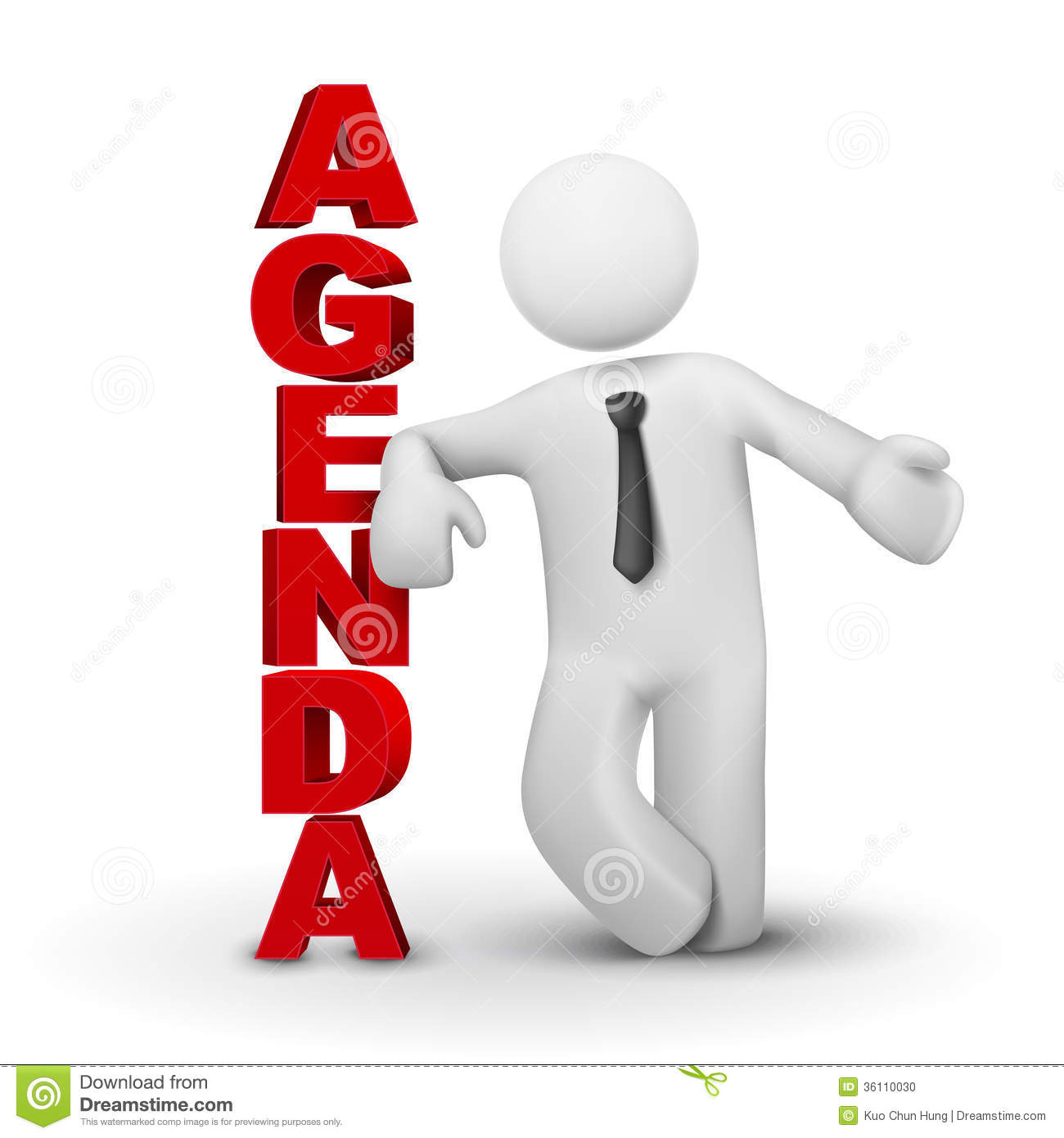 d-business-man-presenting-concept-agenda-white-background-36110030